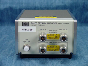 8447F - Agilent HP Amplifiers